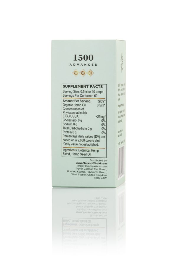 Chanvre CBD Oil 1500