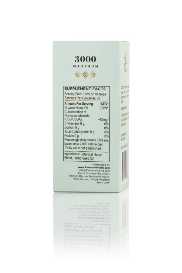 Chanvre CBD Oil 3000