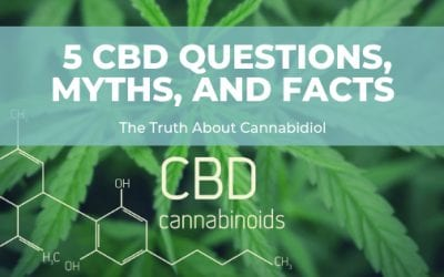 5 CBD Questions, Myths, and Facts: The Truth About Cannabidiol