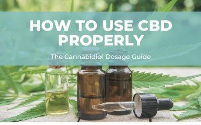 How to Use CBD Properly: The CBD Dosage and Treatment Guide