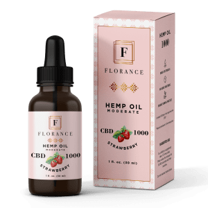 Florance Hemp Oil CBD 1000mg Strawberry
